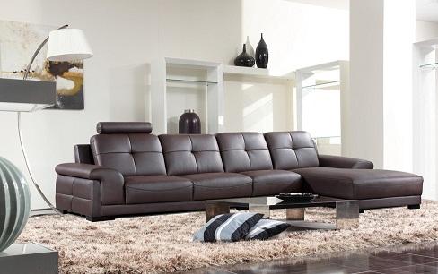 Vải bọc sofa bằng da sang trọng và cổ điển