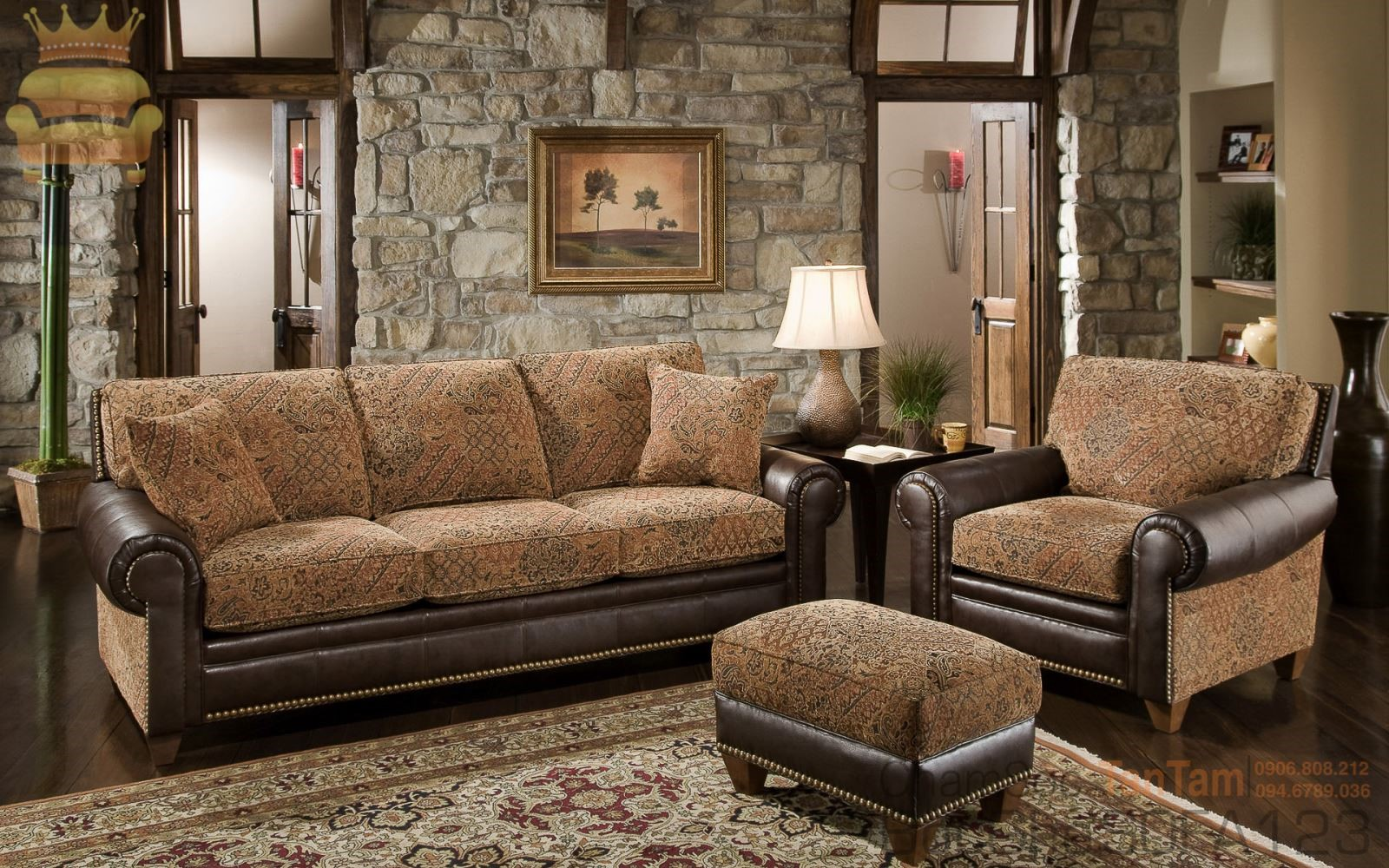 Chọn vải ghế sofa đẹp cho phòng khách nhà bạn