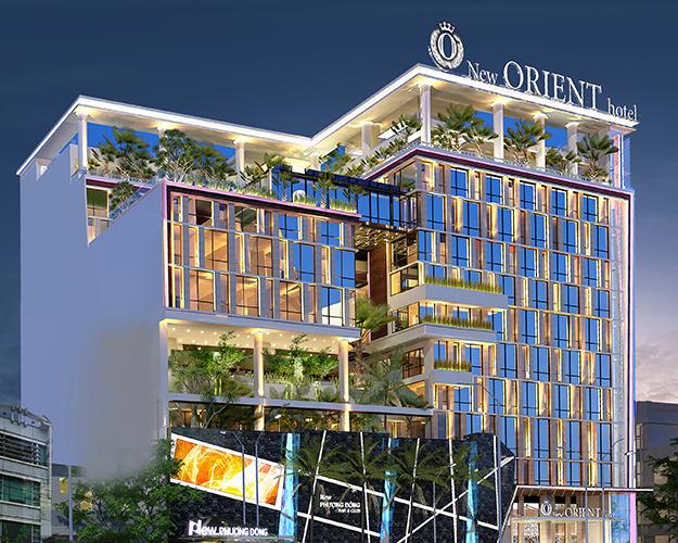 Cung cấp khăn bàn áo ghế cho khách sạn Orient Đà Nẵng